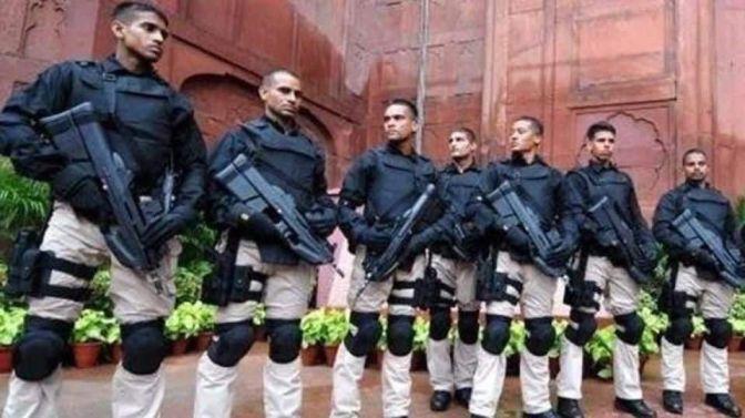 सुरक्षा:विभिन्न श्रेणियों के सुरक्षाकर्मी