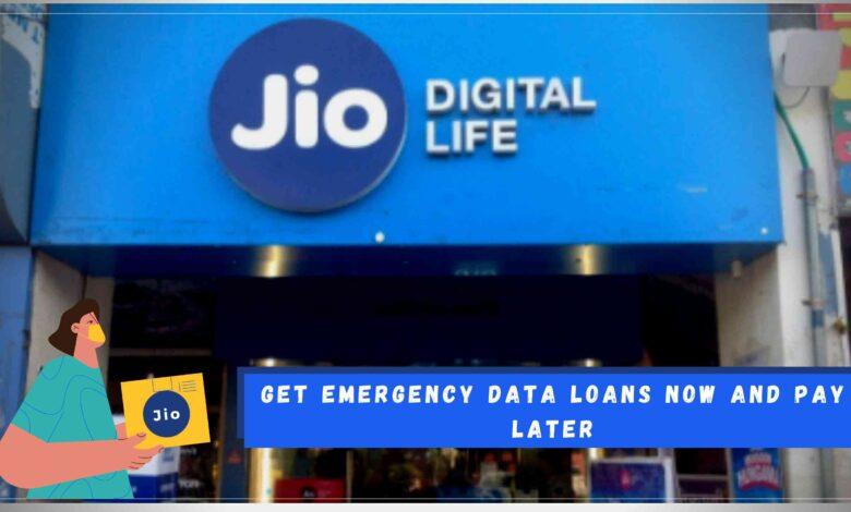 Emergency Data loan plan