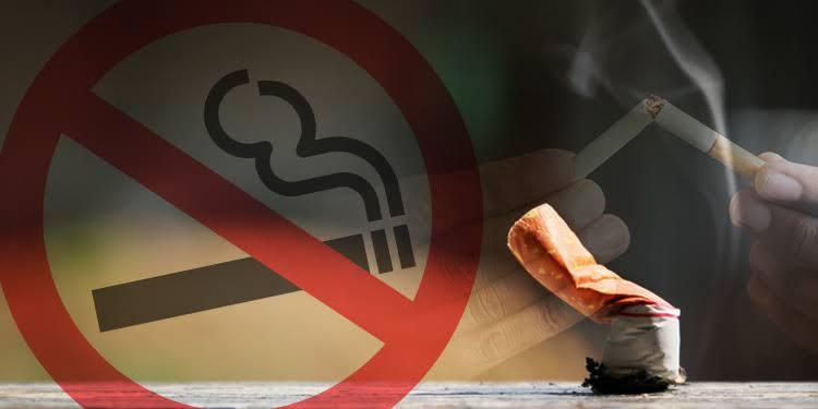 Cigarette ban in UK