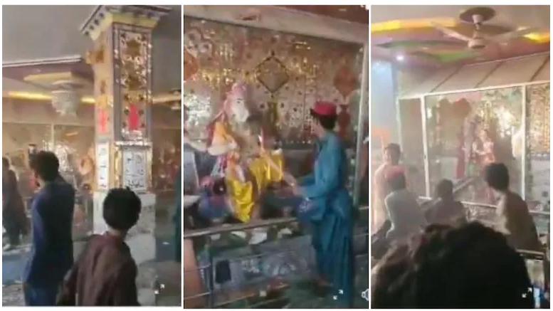 Hindu temple got attacked in Pakistan
