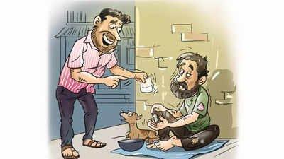 The beggar Mafia