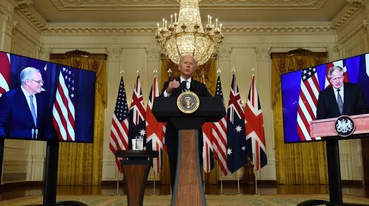 US, UK, and Austrialia security alliance